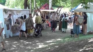 preview picture of video '1. Germares Mittelalterliches Markttreyben in Germersheim 2014'