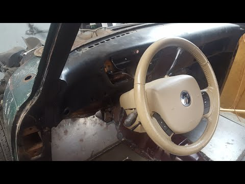 Mounting the steering column in my F100 to Crown Vic frame
