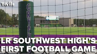 History in the making: Little Rock Southwest High School's first football game