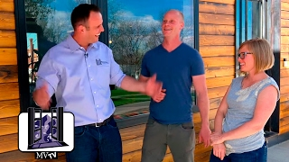 MVTV - Shipping Container Home: Siding and Andersen 100 Series Windows