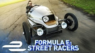 Morgan EV3, Classic Car w/ Electric Engine! Formula E: Street Racers - Full Episode