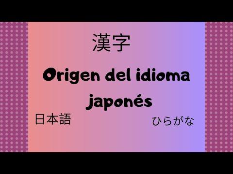 Origen del idioma japonés