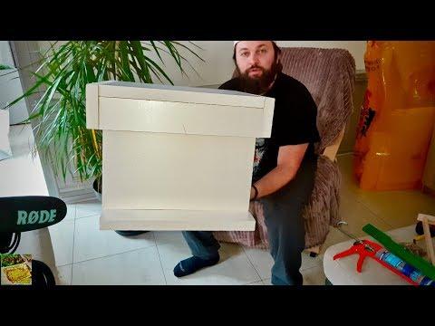 , title : '⚒Comment fabriquer une ruche 10 cadres en polystyrène, HOW TO BUILD A HIVE🛠