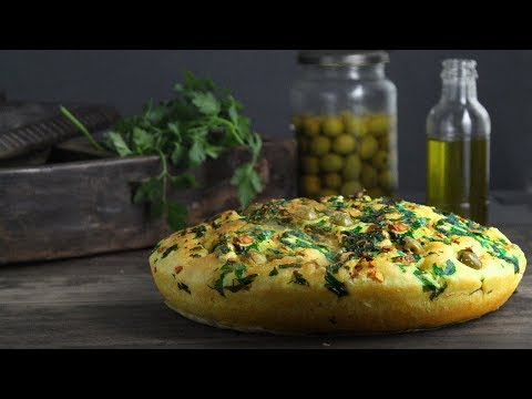 pain focaccia fait maison
