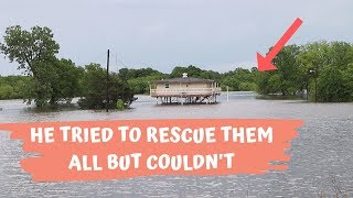 This Is Horrible Oklahoma Flooding! Had To Be Rescued!