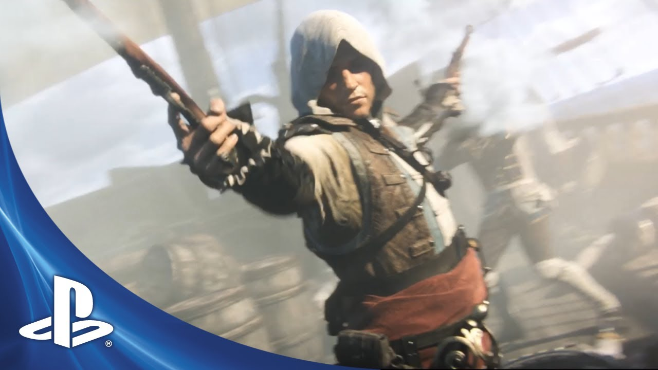 Assassin's Creed IV: Black Flag Coming to PS4 + PS3, PlayStation-Exclusive Content