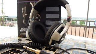 SHURE SRH750DJ: review