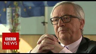 "EU not in ""hostile mood"" on Brexit says Juncker - BBC News"