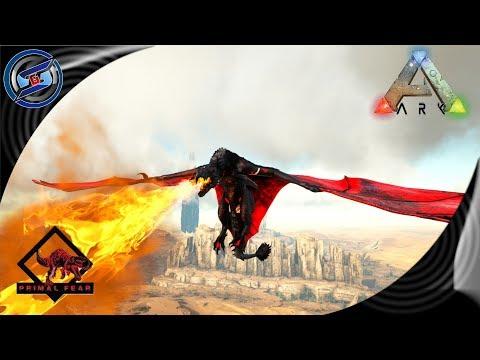 ARK: SURVIVAL EVOLVED - APEX FIRE WYVERN DODOREX & ORIGIN BOSS