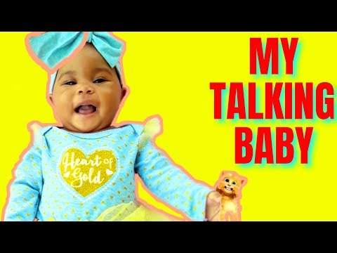 ????????MY TALKING BABY HILARIOUS CONVO????????