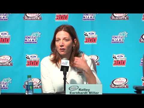 Kelley Earnhardt Miller: 'This was pretty nerve-wracking'