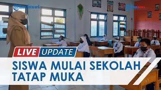 Laporan Belajar Tatap Muka Perdana di Kabupaten Mamuju Sulbar