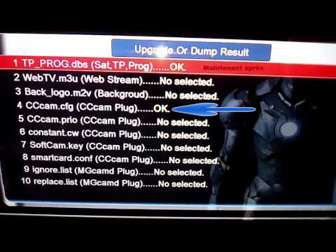 skybox, openbox setup & diagnose newcamed cccam - fawad ali - Video