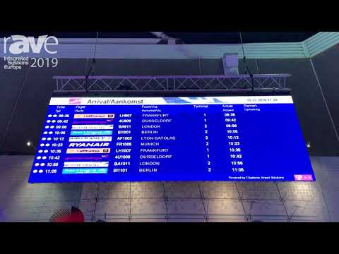 ISE 2019: S[quadrat] Presents LED Solution for Airport Applications
