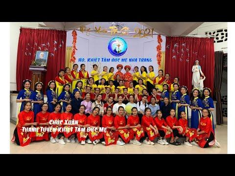 Chúc Xuân -Thanh Tuyển Viện Khiết Tâm Đức Mẹ Nha Trang
