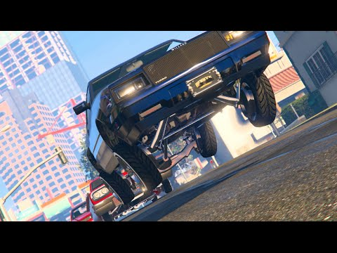 GTA 5 LowRider Music Video | SLAPTrain