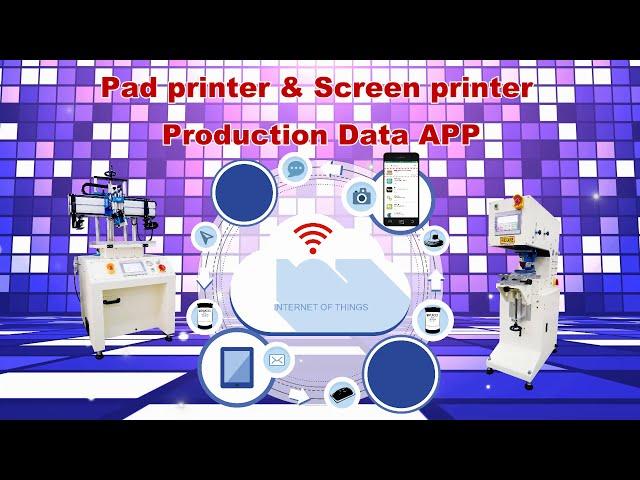 Screen Printing Machine/Screen Printer Production Data APP
