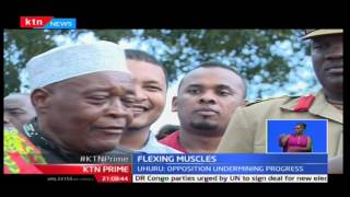KTN Prime: Mombasa Governor Ali Joho tarnishes Jubilee on riding on donor funds to complete projects