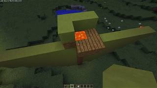 minecraft robimy choinkę i napis wesołych świąt