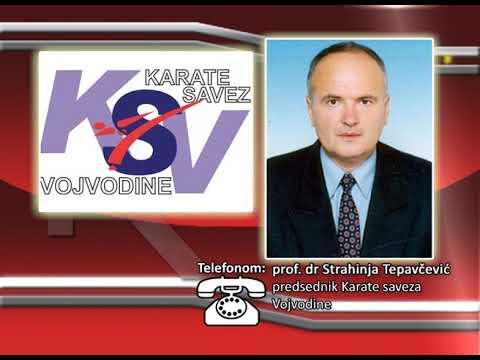 FONO: Strahinja Tepavčević - Karate prvenstvo Vojvodine