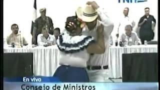 Danza folklorica Consejo de Ministro Juticalpa Olancho 30 04 2013