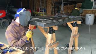 016 Building an ATV trailer Part 1