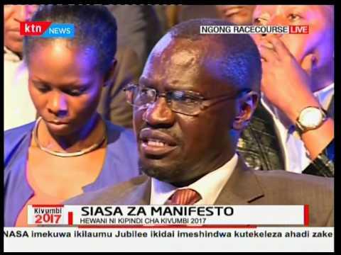 Kivumbi2017: Siasa za Manifesto sehemu ya pili