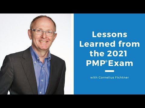 Lessons Learned from the 2021 PMP® Exam - YouTube