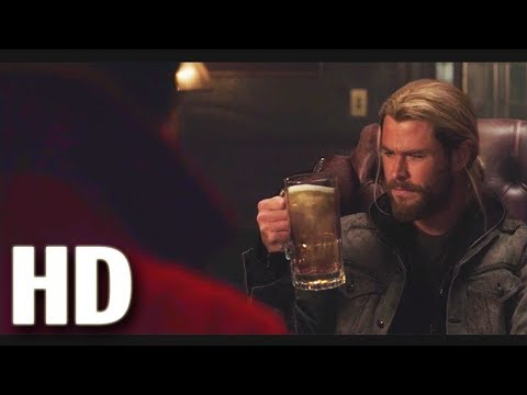 Thor gets Magical beer Mug from Dr.Strange scene | Thor Ragnarok movie clip