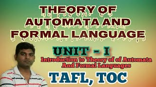 L1:Theory of Automata and Formal Language| Theory of Computation Tutorial Syllabus
