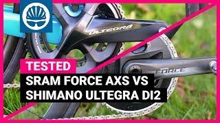 SRAM Force eTap AXS vs. Shimano Ultegra Di2   Electronic Groupsets Head-to-Head