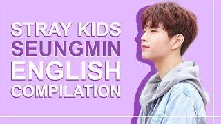 STRAY KIDS' SEUNGMIN SPEAKING ENGLISH   Pt. 2