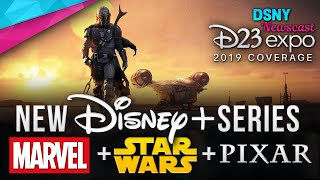D23 Expo 2019 | NEW Star Wars & Marvel TV Series Announced for Disney+ - Disney News - 8/24/19