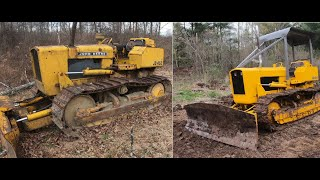 Buying and fixing a dozer : John Deere 450
