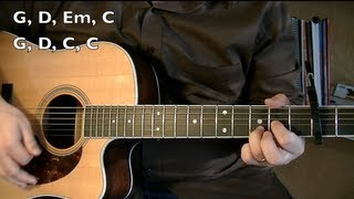 Wagon Wheel   Guitar Lesson (OCMS Or Darius Rucker)