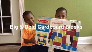 Melissa & Doug Deluxe Jumbo Cardboard Blocks #TakeBackChildhood