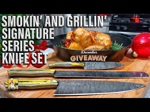 AB Having A Signature Series Knife Giveaway | Holiday Giveaway