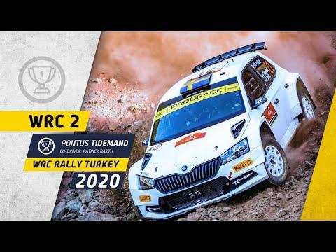WRC2 ラリー・ターキー(トルコ)。気になるシーンを集めたダイジェスト動画