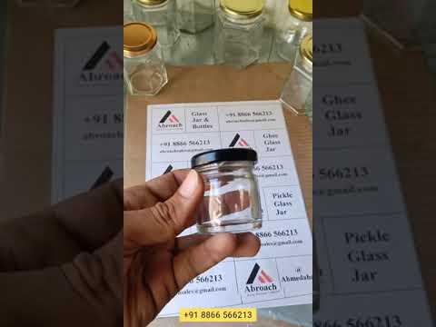 50gm Honey Glass Jar