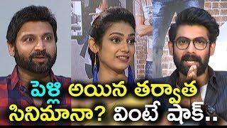 Hero Rana Gets Shock from Actress Akanksha Singh & Sumanth | Malli Raave Team Interview