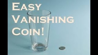 [TUTORIAL] Disappear a COIN with a Glass of water!