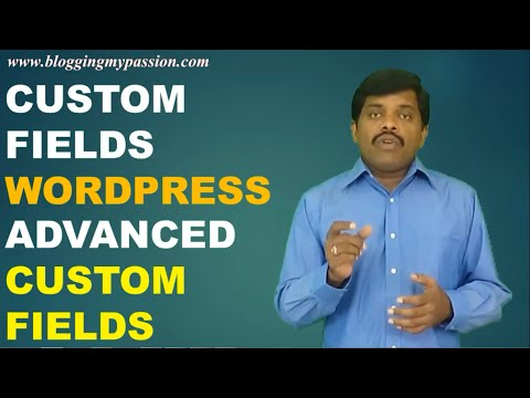 Custom Fields WordPress – Advanced Custom Fields WordPress