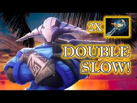 Dota 2 Tricks: Double Slow from Echo Sabre! 7.03