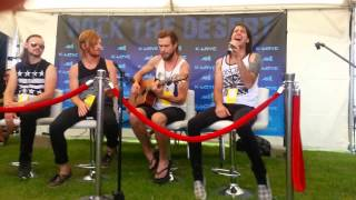 Disciple-After the world live acoustic @ rtd 2013