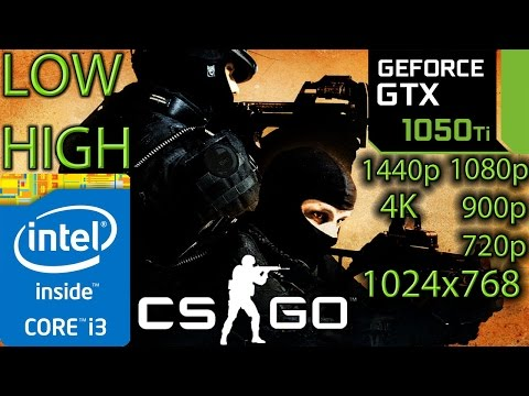 Counter-Strike Global Offensive GTX 1050 2GB   4K - 1440p