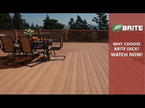 BriteDeck™- Composite Decking
