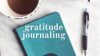 How to Gratitude Journal for Mindfulness, Better Sleep, and Positive Thinking