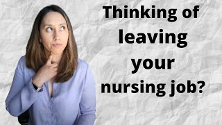 What you need to take into consideration before quitting your nursing job to focus on NP school