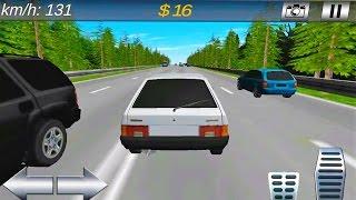 Машинки. Мультфильм для Детей. Водитель  ВАЗ  2109. Русские Машины. Cars Simulator 2016