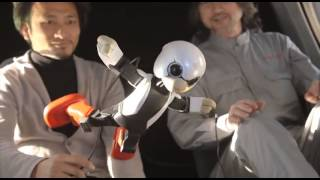 Kirobo - astronaut robot tested in zero-gravity